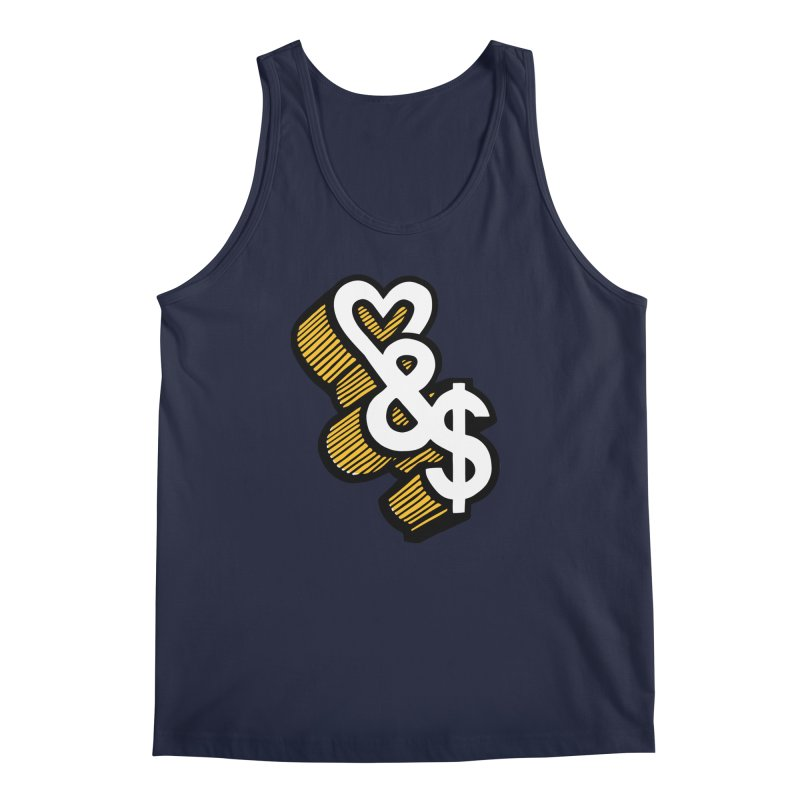 love & money Men's Tank by bortwein's Artist Shop