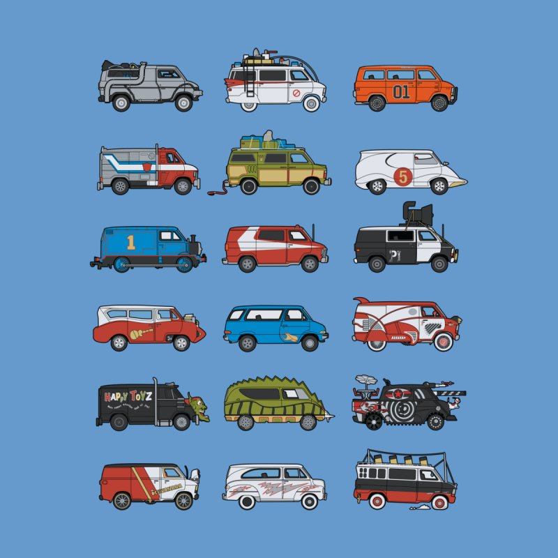 It Would Have Been Cooler as a Van 3.0 Home Fine Art Print by bortwein's Artist Shop
