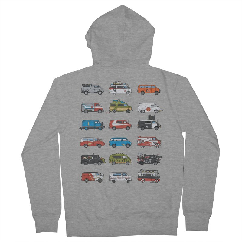It Would Have Been Cooler as a Van 3.0 Women's Zip-Up Hoody by bortwein's Artist Shop