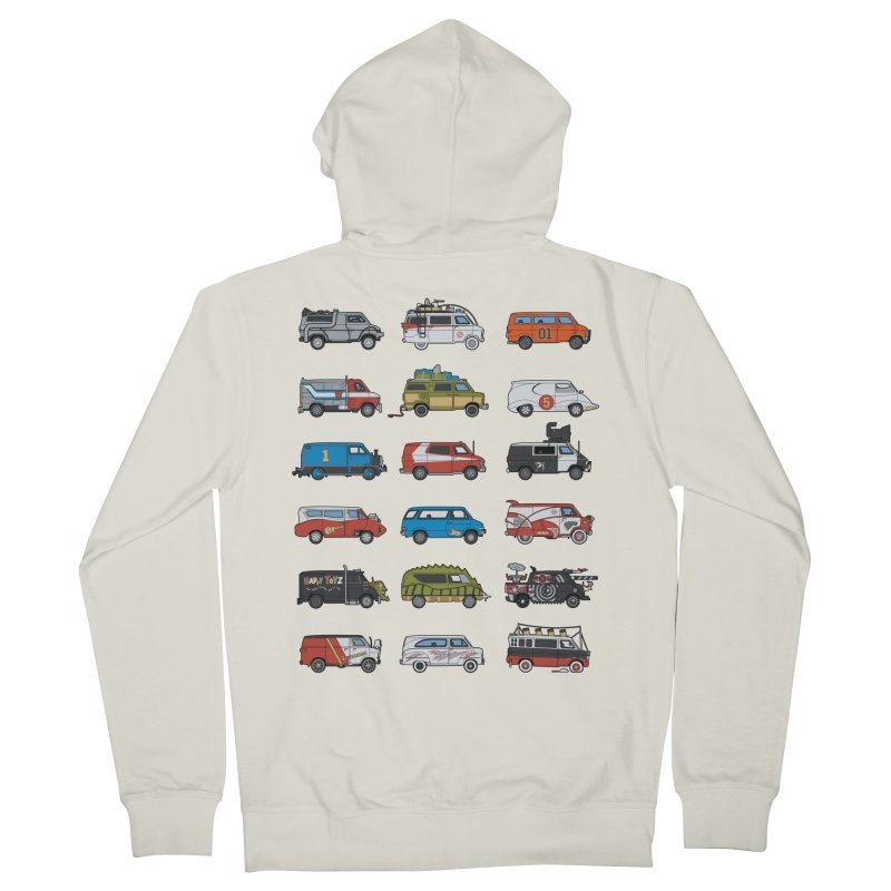 It Would Have Been Cooler as a Van 3.0 Women's French Terry Zip-Up Hoody by bortwein's Artist Shop