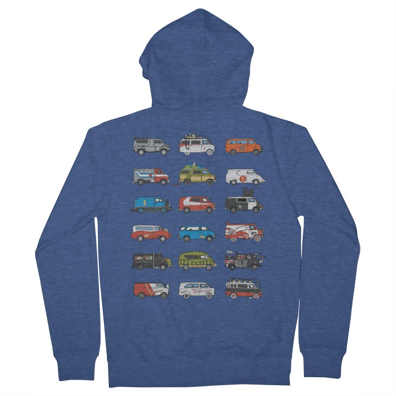 It Would Have Been Cooler as a Van 3.0 Men's Zip-Up Hoody by bortwein's Artist Shop