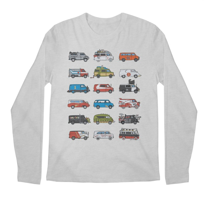 It Would Have Been Cooler as a Van 3.0 Men's Longsleeve T-Shirt by bortwein's Artist Shop