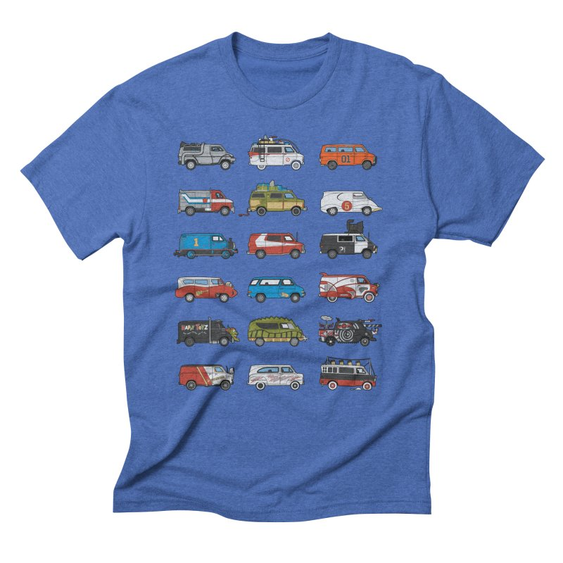 It Would Have Been Cooler as a Van 3.0 Men's Triblend T-Shirt by bortwein's Artist Shop