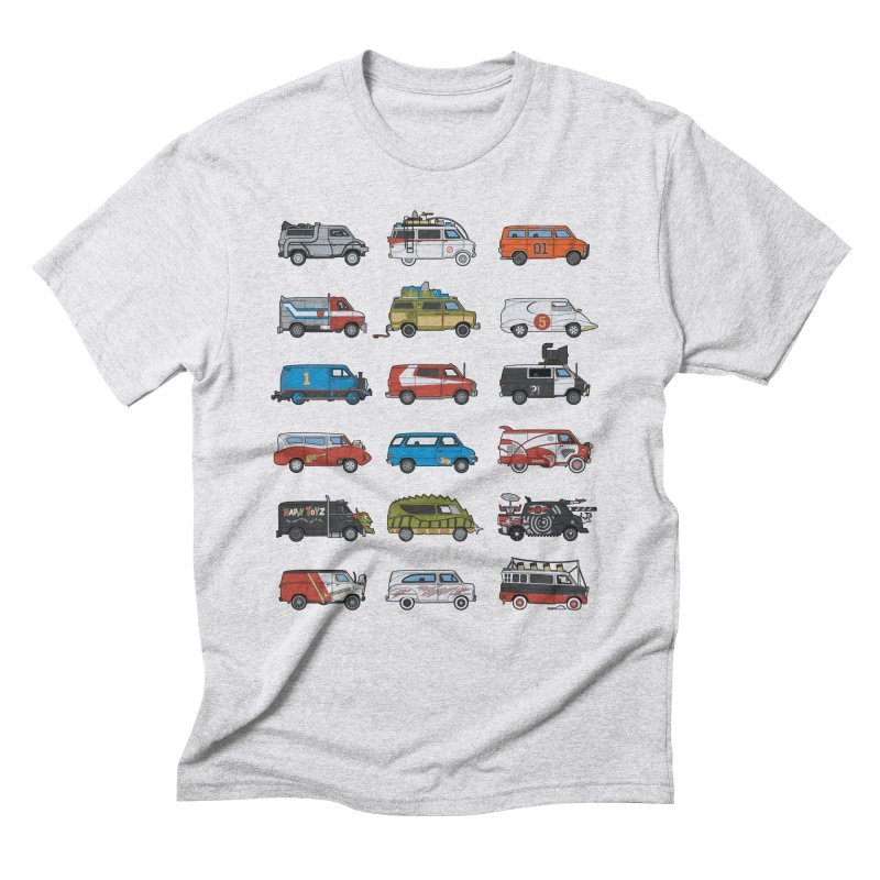 It Would Have Been Cooler as a Van 3.0 Men's Triblend T-shirt by bortwein's Artist Shop