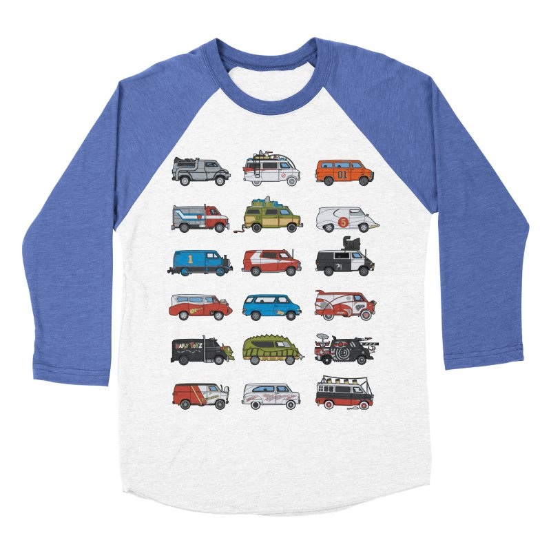 It Would Have Been Cooler as a Van 3.0 Men's Baseball Triblend T-Shirt by bortwein's Artist Shop