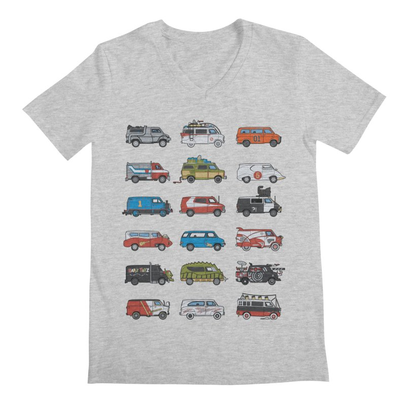 It Would Have Been Cooler as a Van 3.0 Men's V-Neck by bortwein's Artist Shop