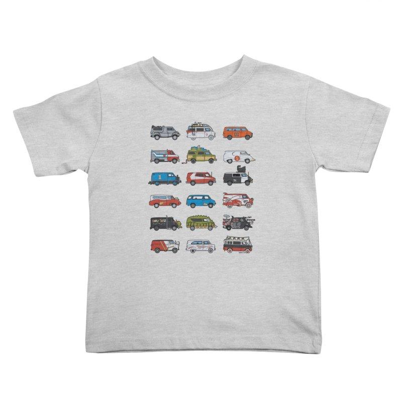 It Would Have Been Cooler as a Van 3.0 Kids Toddler T-Shirt by bortwein's Artist Shop