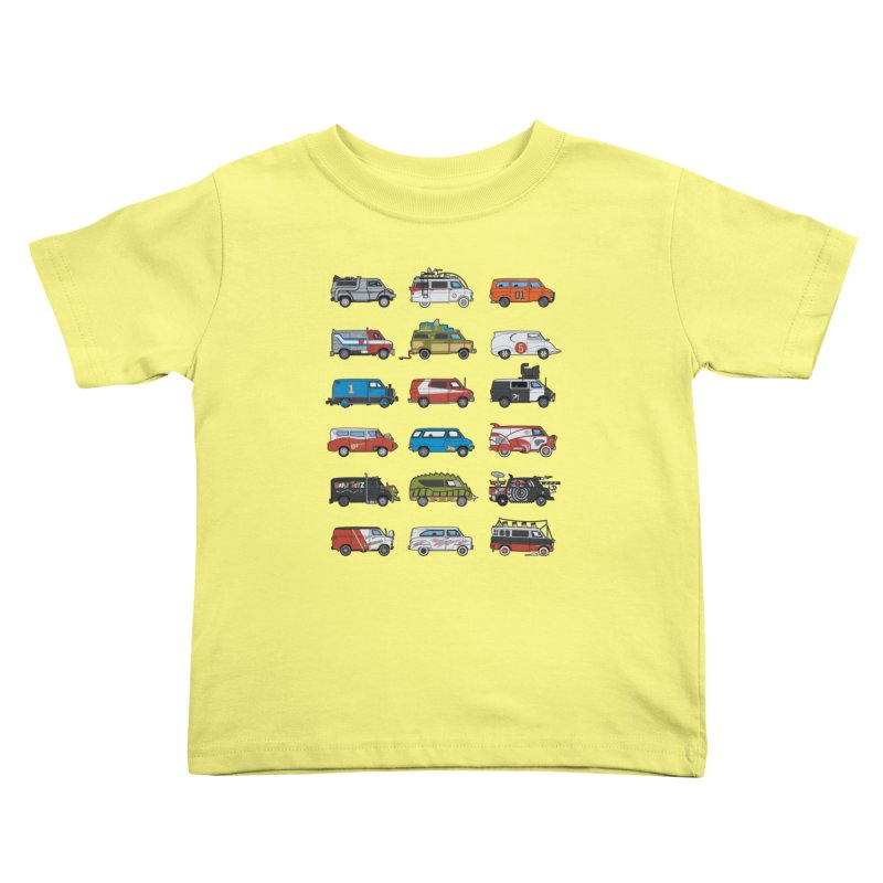 It Would Have Been Cooler as a Van 3.0 Kids Toddler T-Shirt by bortwein's Artist Shop