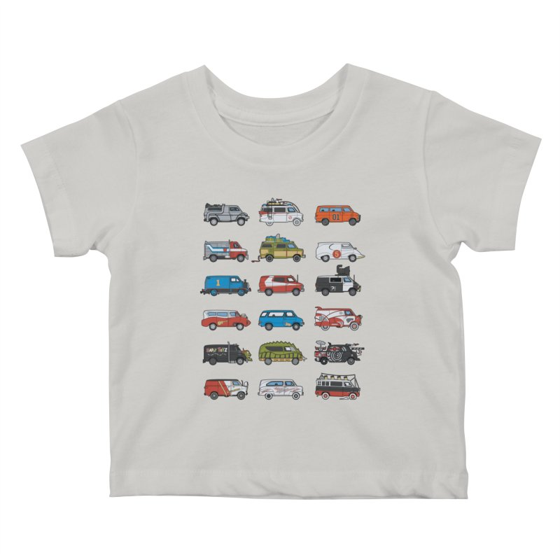 It Would Have Been Cooler as a Van 3.0 Kids Baby T-Shirt by bortwein's Artist Shop