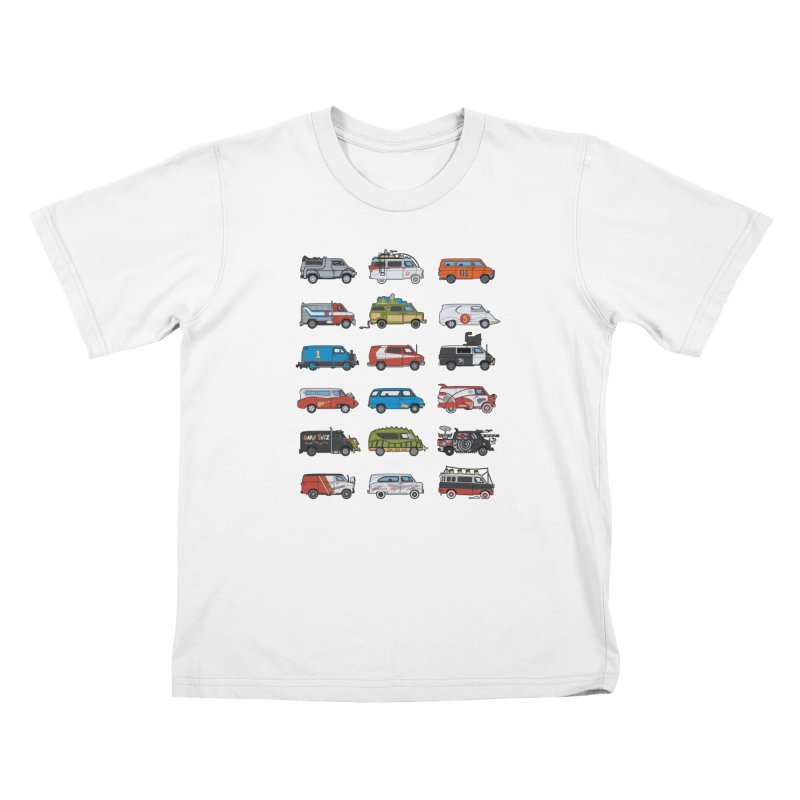 It Would Have Been Cooler as a Van 3.0 Kids T-Shirt by bortwein's Artist Shop