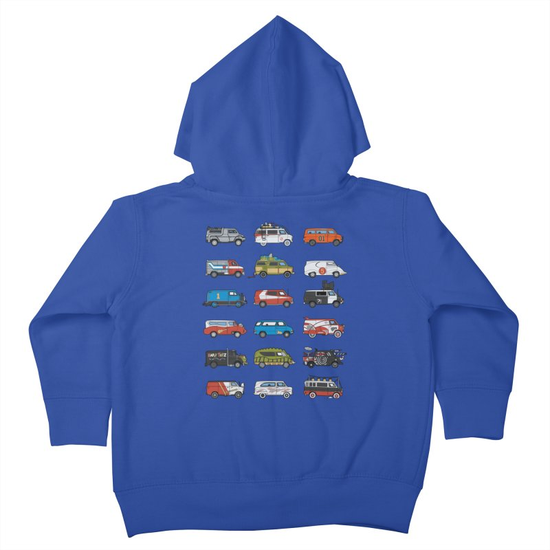 It Would Have Been Cooler as a Van 3.0 Kids Toddler Zip-Up Hoody by bortwein's Artist Shop