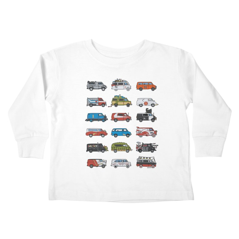 It Would Have Been Cooler as a Van 3.0 Kids Toddler Longsleeve T-Shirt by bortwein's Artist Shop