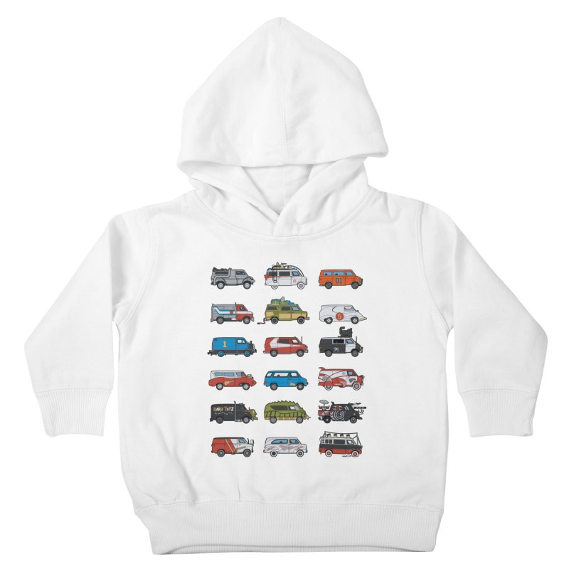 It Would Have Been Cooler as a Van 3.0 Kids Toddler Pullover Hoody by bortwein's Artist Shop