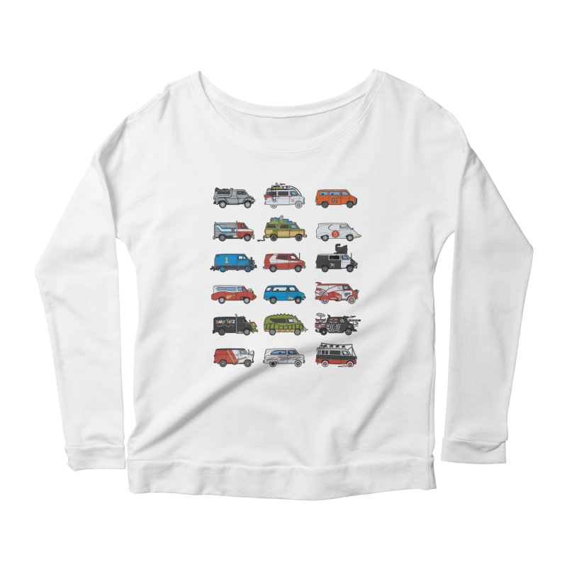 It Would Have Been Cooler as a Van 3.0 Women's Longsleeve Scoopneck  by bortwein's Artist Shop