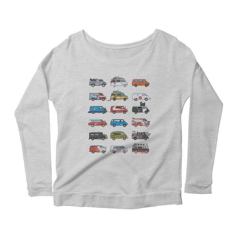 It Would Have Been Cooler as a Van 3.0 Women's Scoop Neck Longsleeve T-Shirt by bortwein's Artist Shop