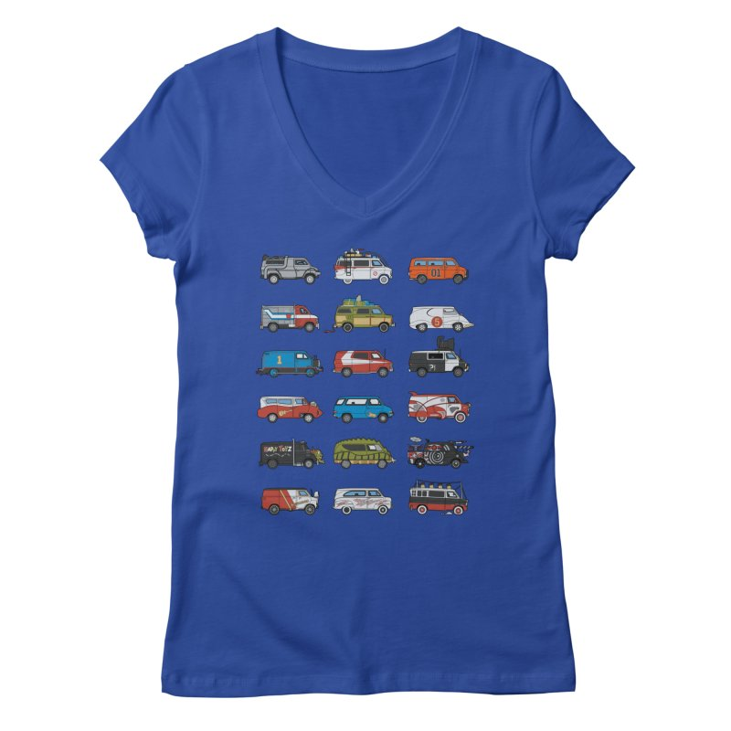 It Would Have Been Cooler as a Van 3.0 Women's V-Neck by bortwein's Artist Shop