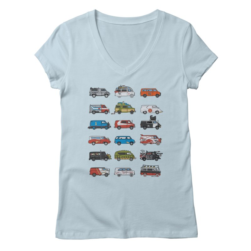 It Would Have Been Cooler as a Van 3.0 Women's Regular V-Neck by bortwein's Artist Shop