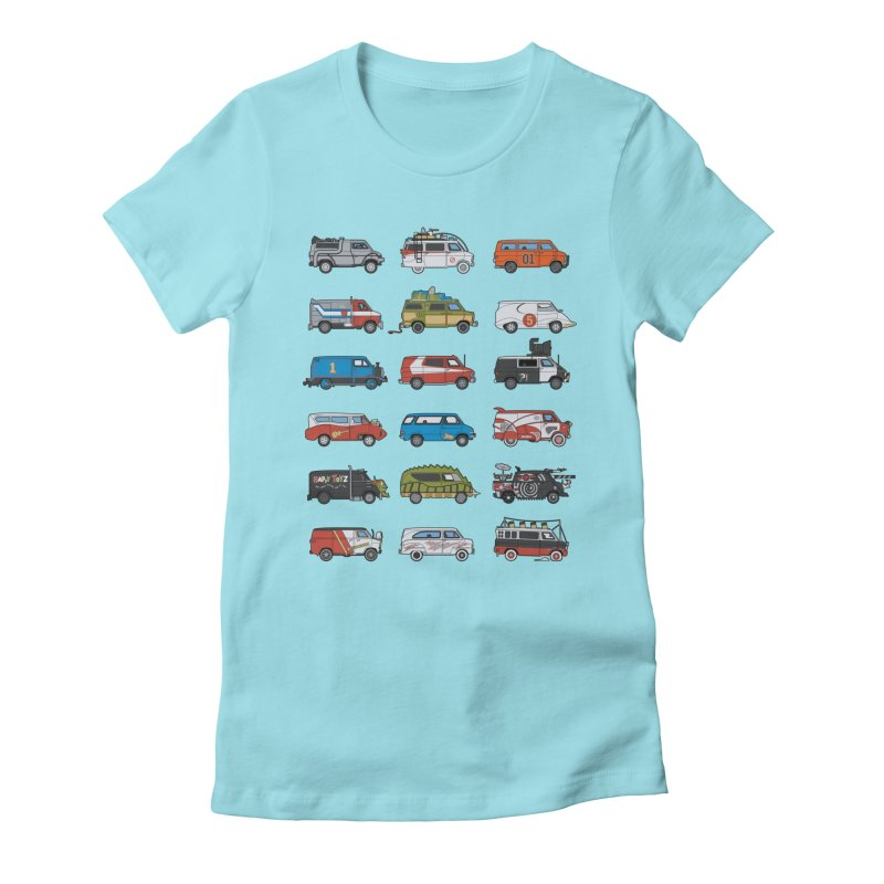 It Would Have Been Cooler as a Van 3.0 Women's Fitted T-Shirt by bortwein's Artist Shop
