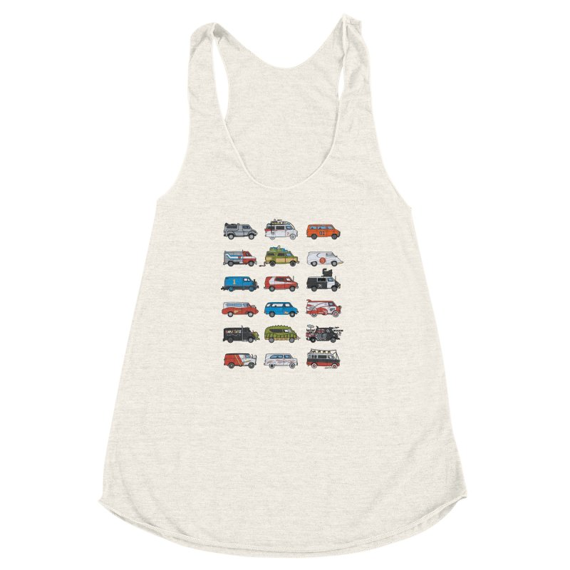 It Would Have Been Cooler as a Van 3.0 Women's Racerback Triblend Tank by bortwein's Artist Shop