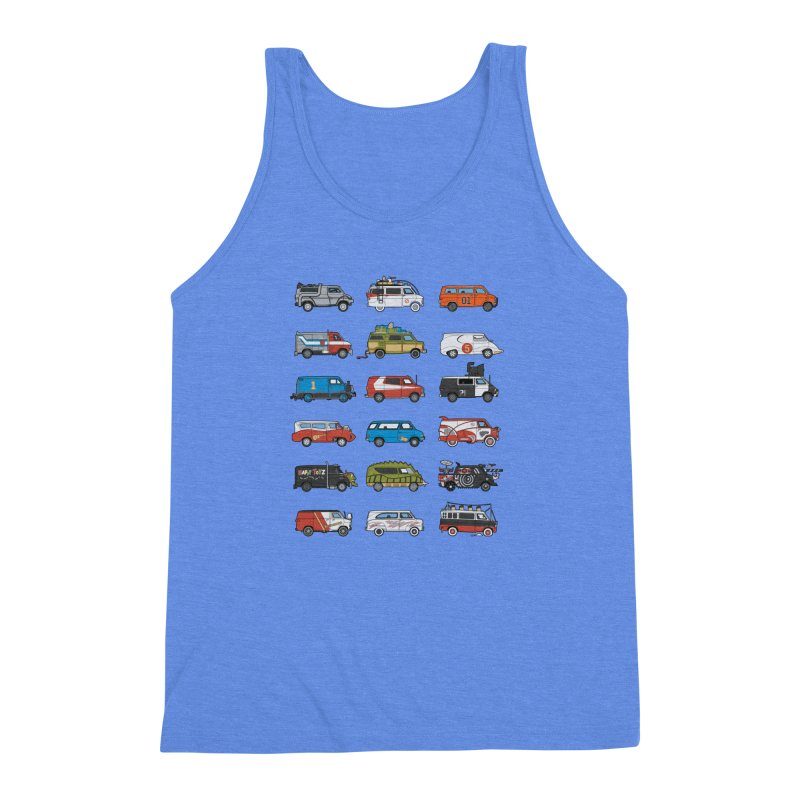 It Would Have Been Cooler as a Van 3.0 Men's Triblend Tank by bortwein's Artist Shop