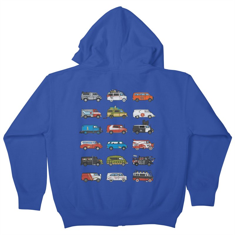 It Would Have Been Cooler as a Van 3.0 Kids Zip-Up Hoody by bortwein's Artist Shop
