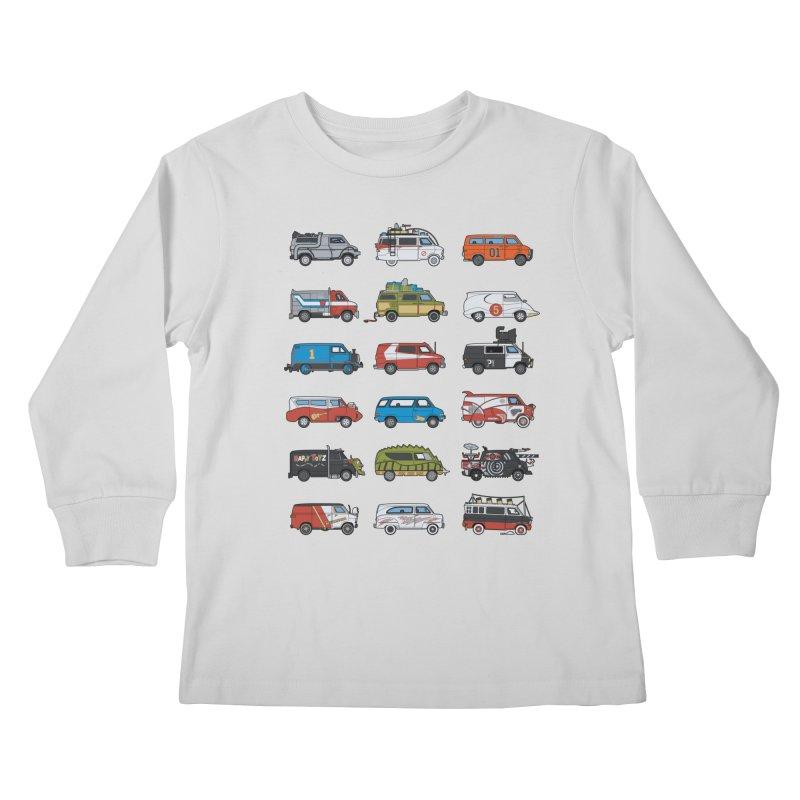 It Would Have Been Cooler as a Van 3.0 Kids Longsleeve T-Shirt by bortwein's Artist Shop