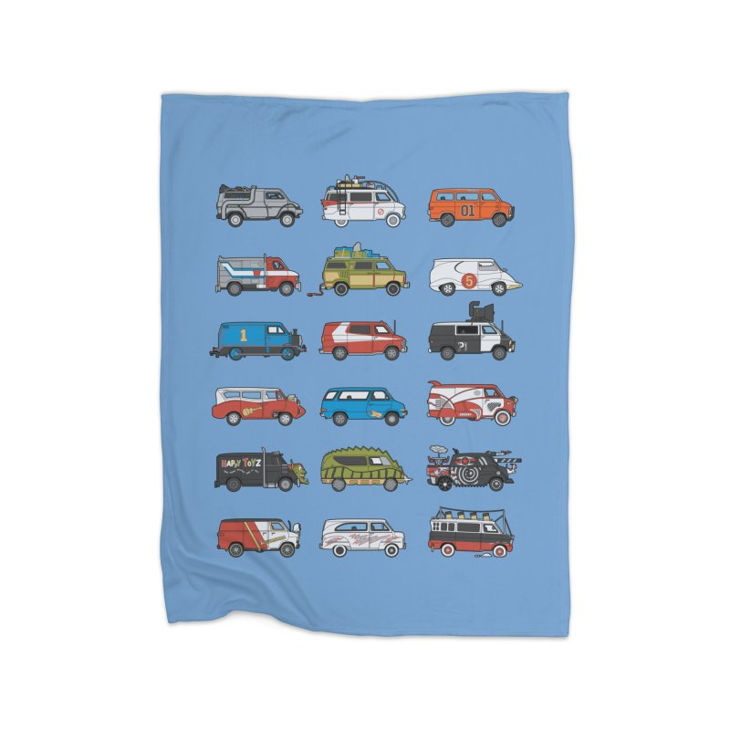 It Would Have Been Cooler as a Van 3.0 Home Blanket by bortwein's Artist Shop