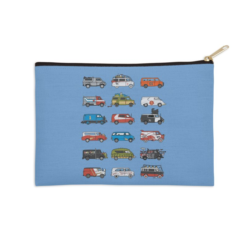 It Would Have Been Cooler as a Van 3.0 Accessories Zip Pouch by bortwein's Artist Shop