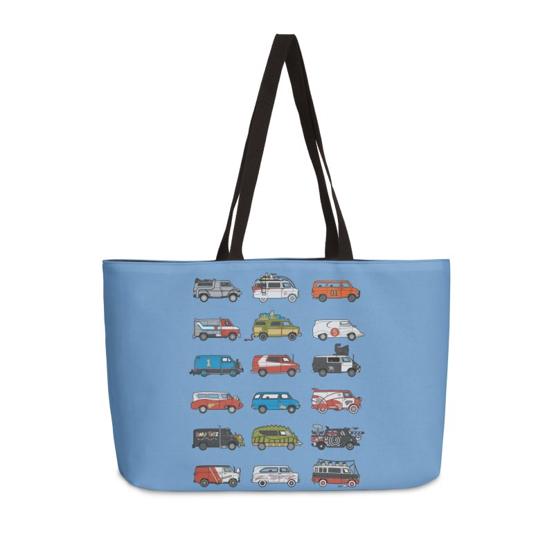 It Would Have Been Cooler as a Van 3.0 Accessories Bag by bortwein's Artist Shop