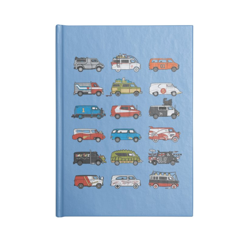 It Would Have Been Cooler as a Van 3.0 Accessories Notebook by bortwein's Artist Shop
