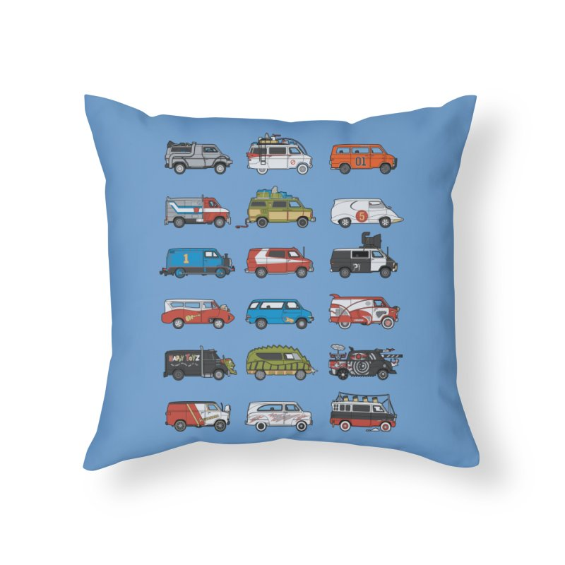 It Would Have Been Cooler as a Van 3.0 Home Throw Pillow by bortwein's Artist Shop