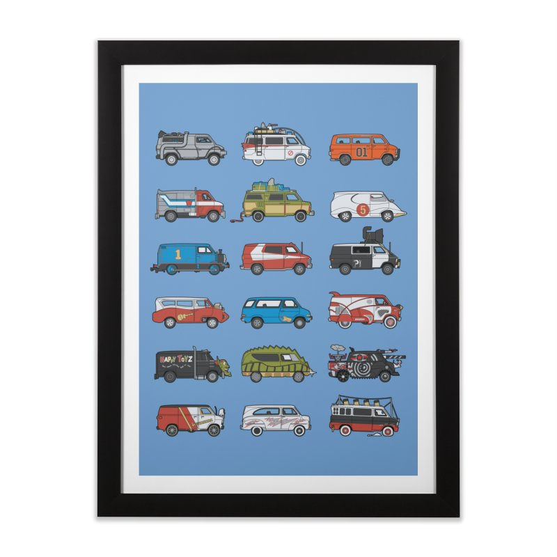 It Would Have Been Cooler as a Van 3.0 Home Framed Fine Art Print by bortwein's Artist Shop