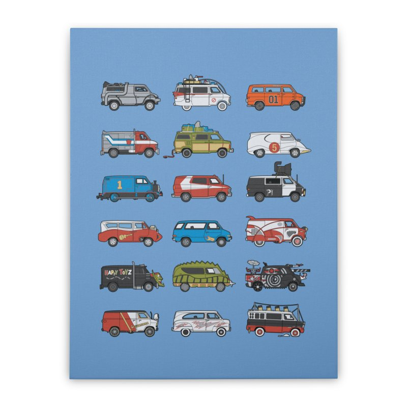It Would Have Been Cooler as a Van 3.0 Home Stretched Canvas by bortwein's Artist Shop