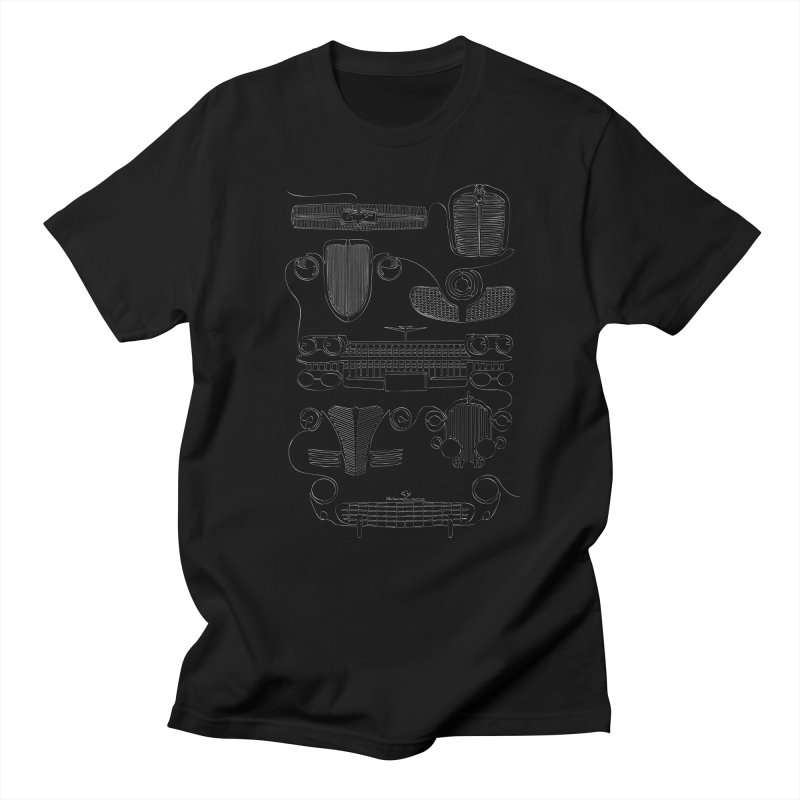 Classic Grills in Men's T-Shirt Black by bortwein's Artist Shop
