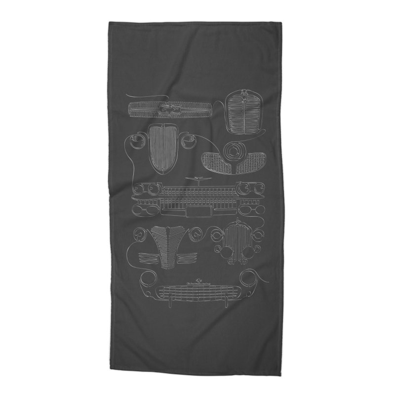 Classic Grills Accessories Beach Towel by bortwein's Artist Shop