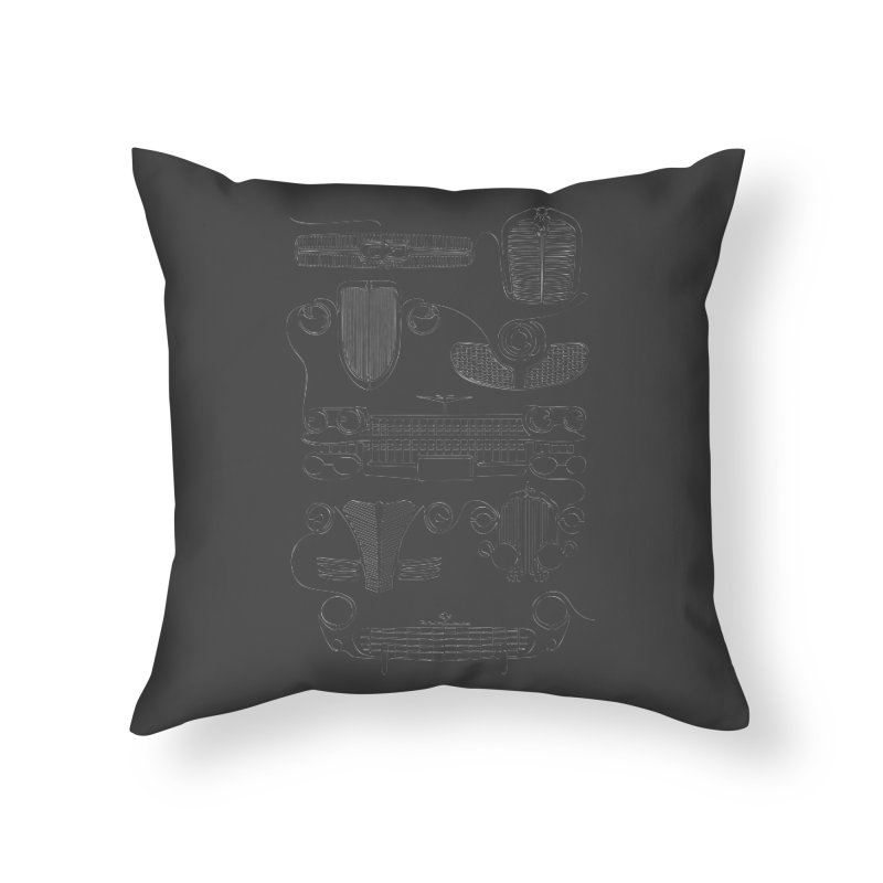 Classic Grills Home Throw Pillow by bortwein's Artist Shop