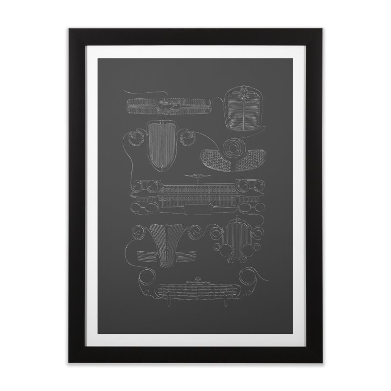 Classic Grills Home Framed Fine Art Print by bortwein's Artist Shop
