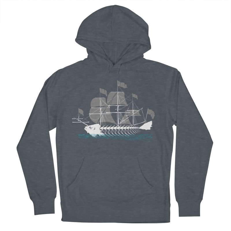 Cutter Fish Women's French Terry Pullover Hoody by bortwein's Artist Shop