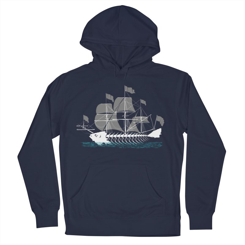 Cutter Fish Women's Pullover Hoody by bortwein's Artist Shop