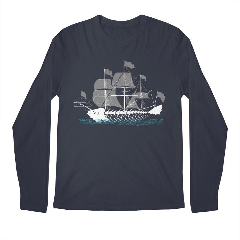 Cutter Fish Men's Longsleeve T-Shirt by bortwein's Artist Shop