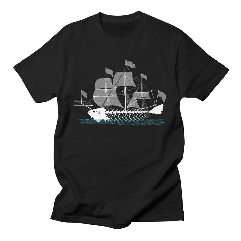 Cutter Fish Men's T-shirt by bortwein's Artist Shop