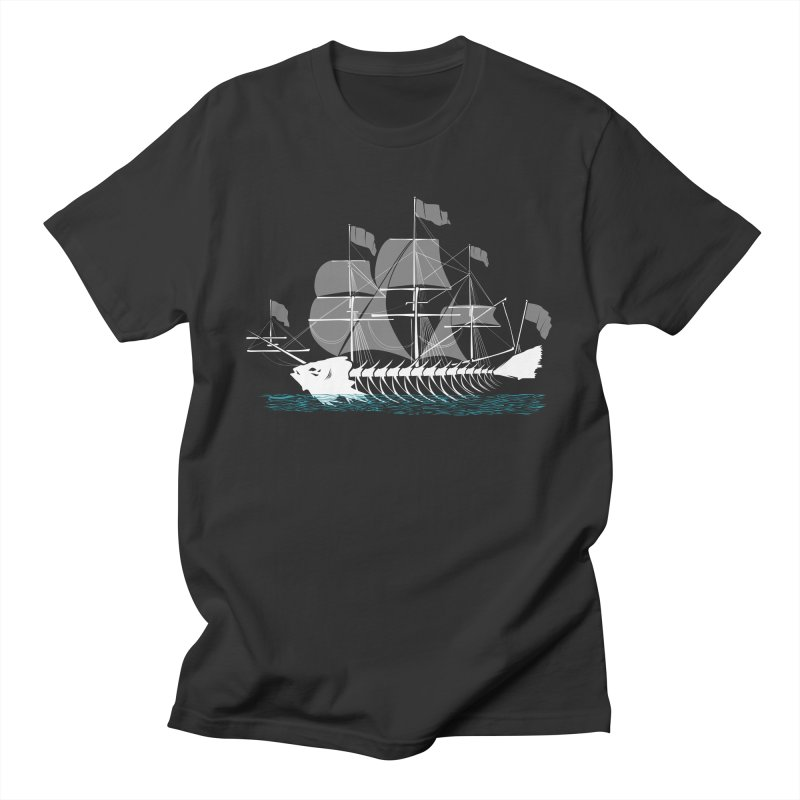 Cutter Fish Men's T-shirt by bortwein's Artist Shop