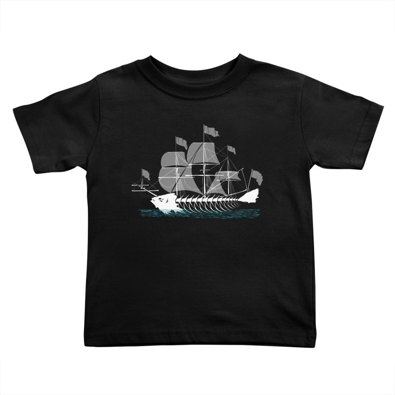 Cutter Fish Kids Toddler T-Shirt by bortwein's Artist Shop