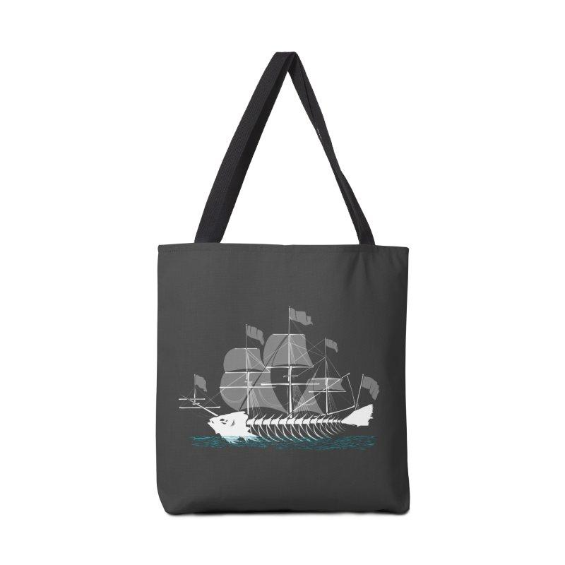 Cutter Fish Accessories Bag by bortwein's Artist Shop