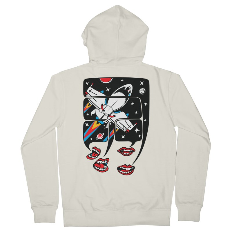 Let's Talk About SpaceShips Women's French Terry Zip-Up Hoody by bortwein's Artist Shop