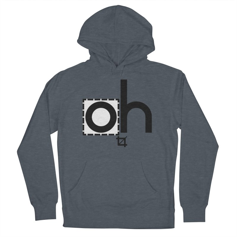 oh crop Women's French Terry Pullover Hoody by bortwein's Artist Shop
