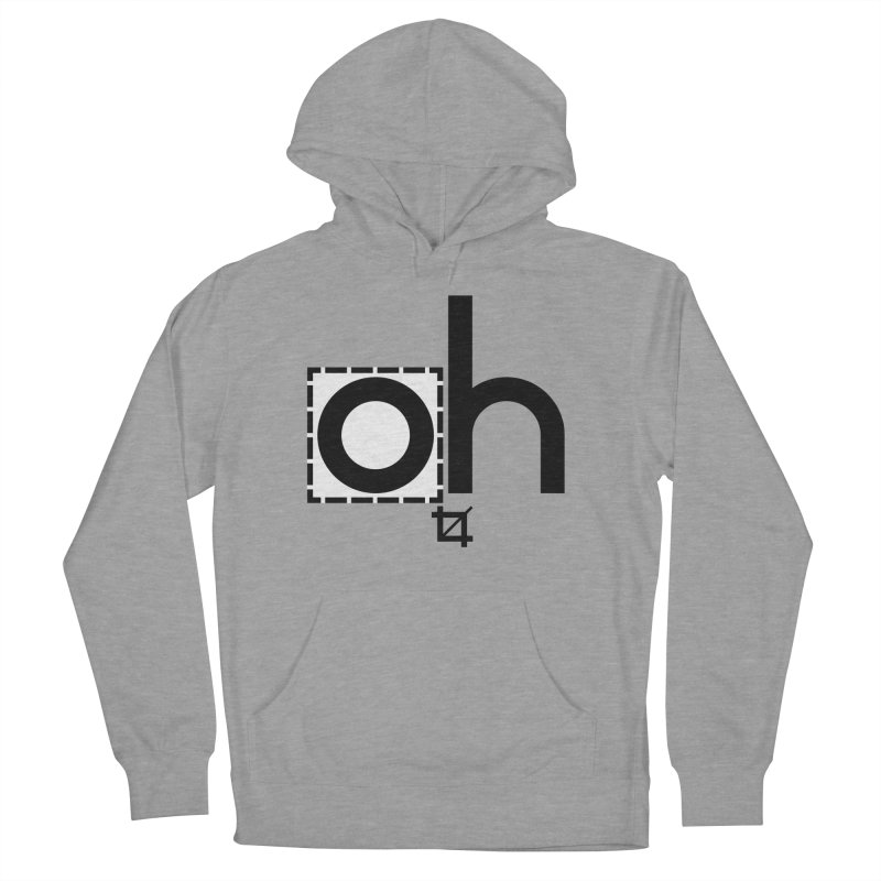 oh crop Women's Pullover Hoody by bortwein's Artist Shop