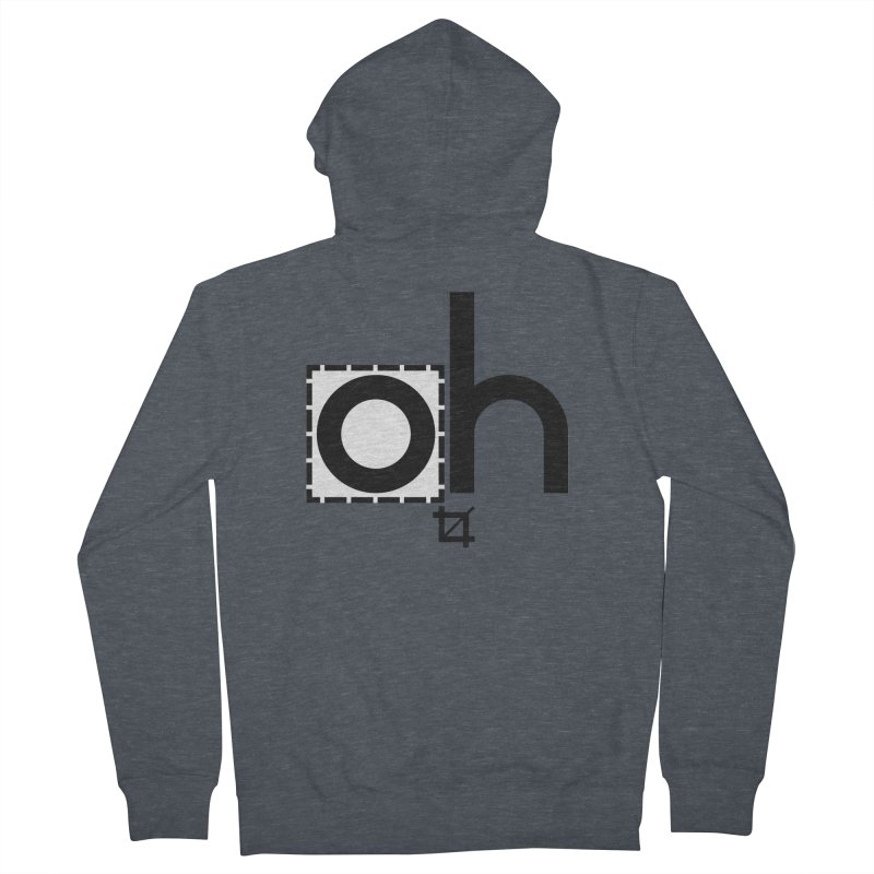 oh crop Women's Zip-Up Hoody by bortwein's Artist Shop