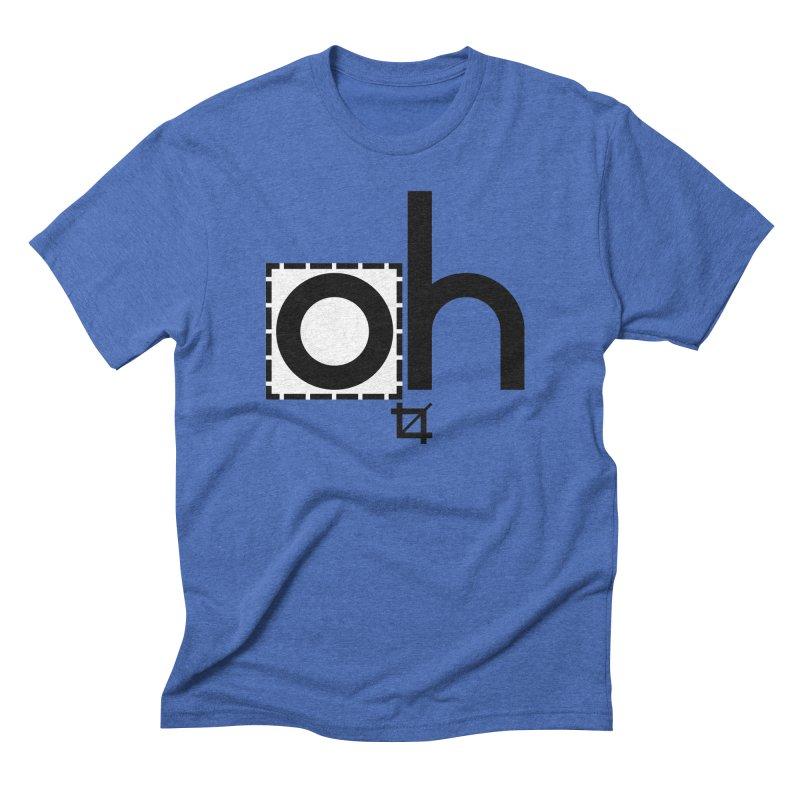 oh crop Men's Triblend T-Shirt by bortwein's Artist Shop