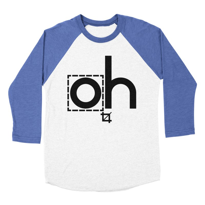 oh crop Women's Baseball Triblend T-Shirt by bortwein's Artist Shop